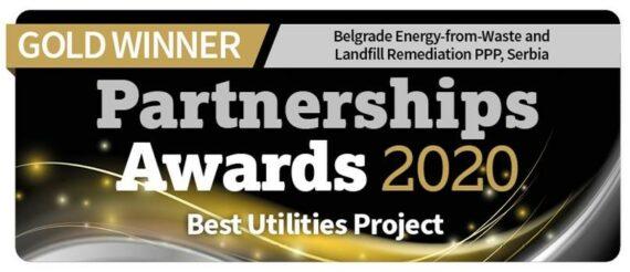 Partnerships Bulletin gold award 2020