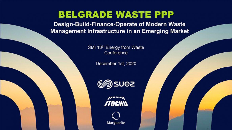 SUEZ's  global business line  Treatment Infrastructure  Waste