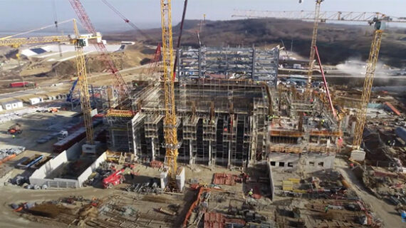 drone view of current works 22122020 1