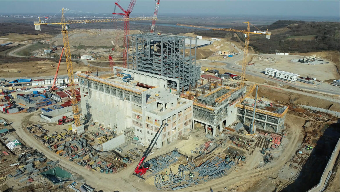 Drone View of Current Works 25032021