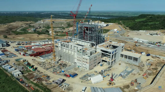 drone view of the project site of may 26 2021