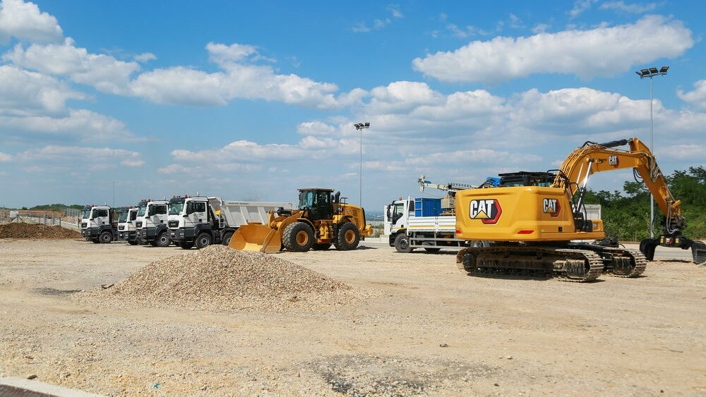 Construction site works - New Machines - 4 June 2021